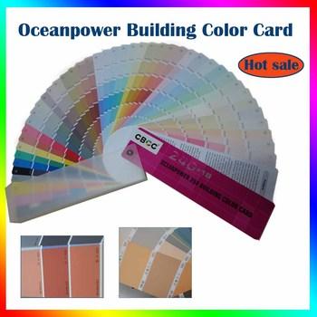Paint Color Swatchesuniversal Color Chartplastic Color Fandeck For