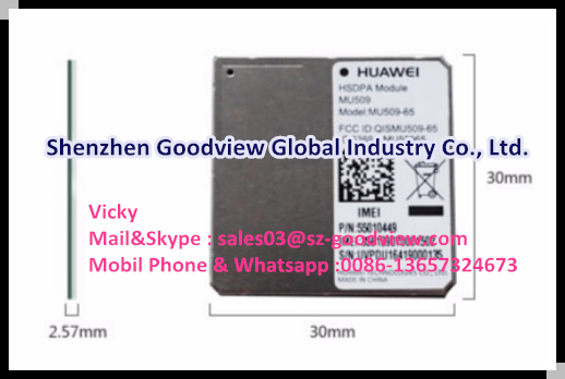 Huawei MU509-65 HSDPA module based on Qualcomm chipset