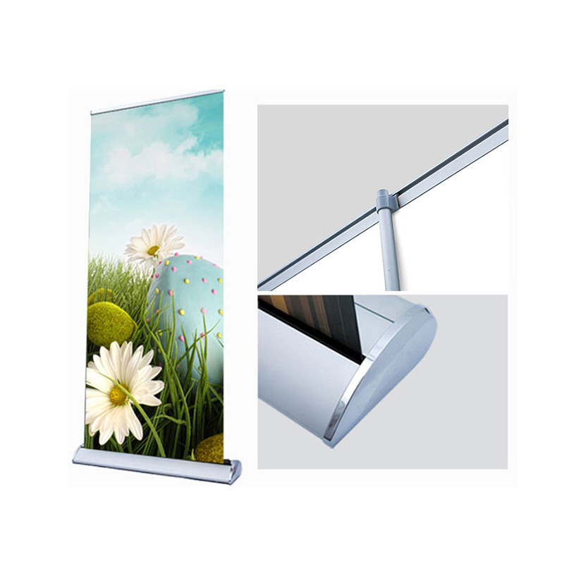 31.5*79 35.5*79 39*79in Custom Roll Up Banner Size In Inches Trade Promotion Display Stand