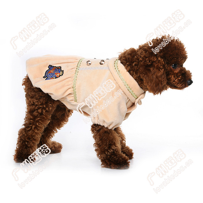 New pet apparel dog products North American native junior partner coat dog clothes pet accessories