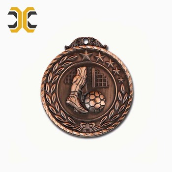 High quality customized design metal football medal