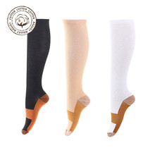 High quality fashion decorative compression socks 20-30mmHg