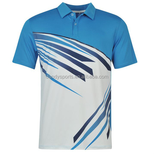 Wholesale Custom Made sublimation Sports Fitness Apparel Polo T-shirts