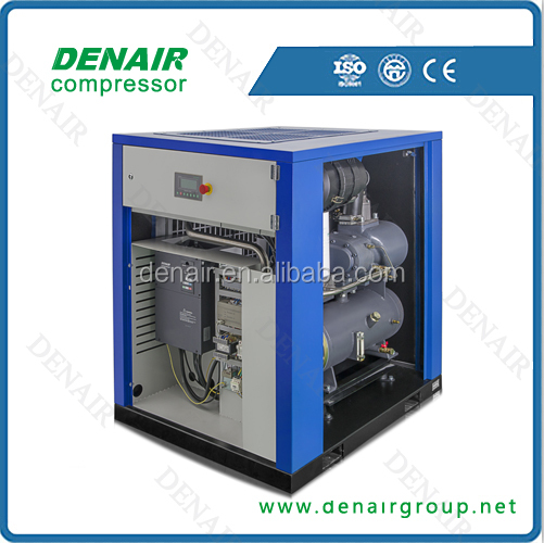 Denair 110kw compresor de doble tornillos de frecuencia variable