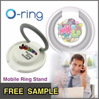 Free Sample O-ring plastic lightweight mobile Accessories ring holder for phone