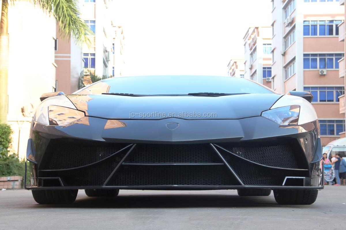 Car Carbon Fiber Aventador Front Bumper Kit For Lamborghini