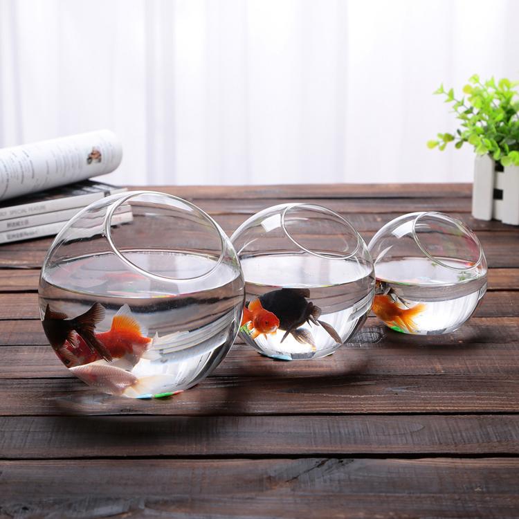 Aliexpress.com : Buy 2015 New ! Clear Glass Bowl Vase Fish