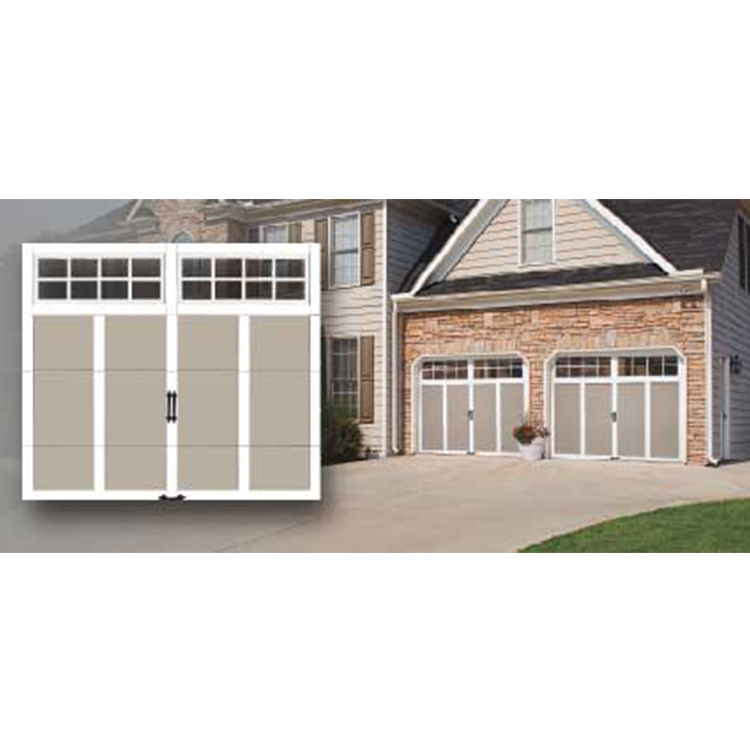 Customized security fireproof aluminum garage door