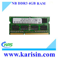 Non-ECC Function and DDR Type ddr3 2gb 4gb laptop ram memory with best working