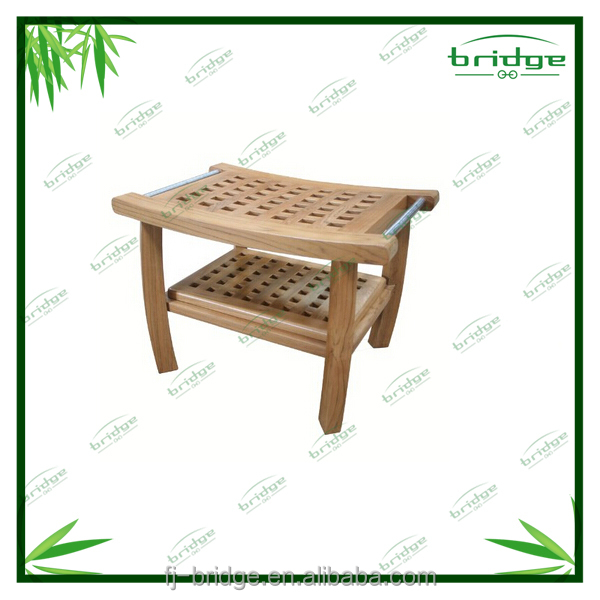 Bamb ba o ducha banco bancos para el patio identificaci n for Accesorios bano bambu