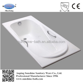 Anping Bathroom Tub,modern Drop In Cast Iron Bathtub,best Enamel Bath Tub