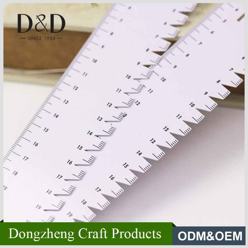 Eco-friendly soft square patchwork quilting ruler for home sewing