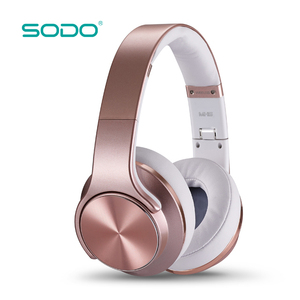 SODO Wholesale Foldable Bluetooth Headphones Mini Portable Wireless Speaker
