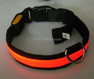 Pet Dog Harness LED Light Pet Collar 4 Colors Air Mesh Safety All For Animals Chest Straps Peitoral Dog Reflective Vest