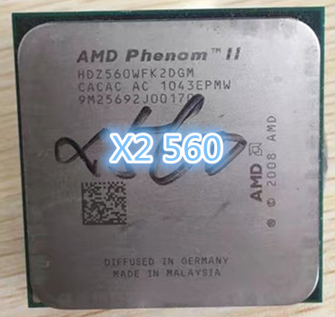 Amd Phenom Ii X2 560 Cpu 3 3ghz 6mb L3 Cache Socket Am3 Pga938 Desktop Cpu Scattered Pieces Processor View X2 560 Amd Product Details From Shenzhen Brilliant Electronic Co Ltd On Alibaba Com