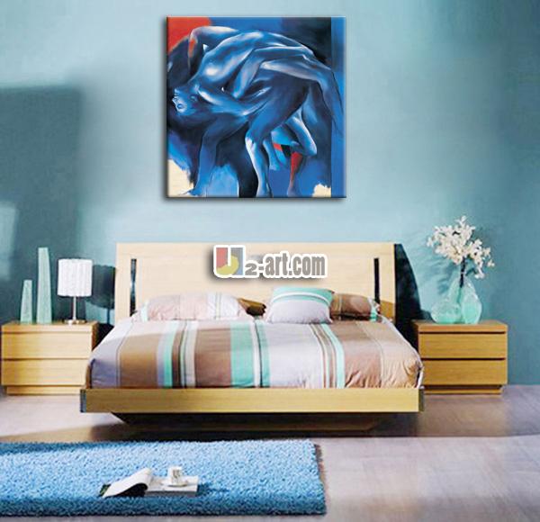 la pared cuelgan cuadros abstractos woman nude pintura al leo para el dormitorio