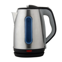 High Quality stainless steel electric tea Kettle with transparent window in Competitive price