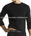 PLAIN DYED BLACK BLANK T-SHIRTS