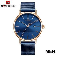 Часы NAVIFORCE для пар, модные часы для влюбленных, спортивные часы, 2019, люксовый Топ, бренд, браслет, наручные часы для мужчин, женщин, девушек, по...(Китай)