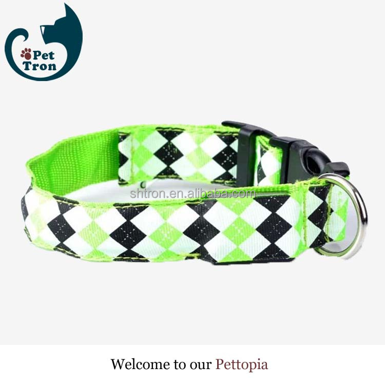 New products environmental rechargeable waterproof dog collar