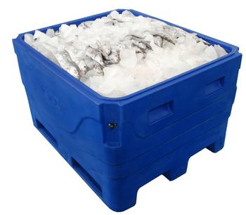 Aquaculture Use Plastic Container Fish Storage Tub 1000L