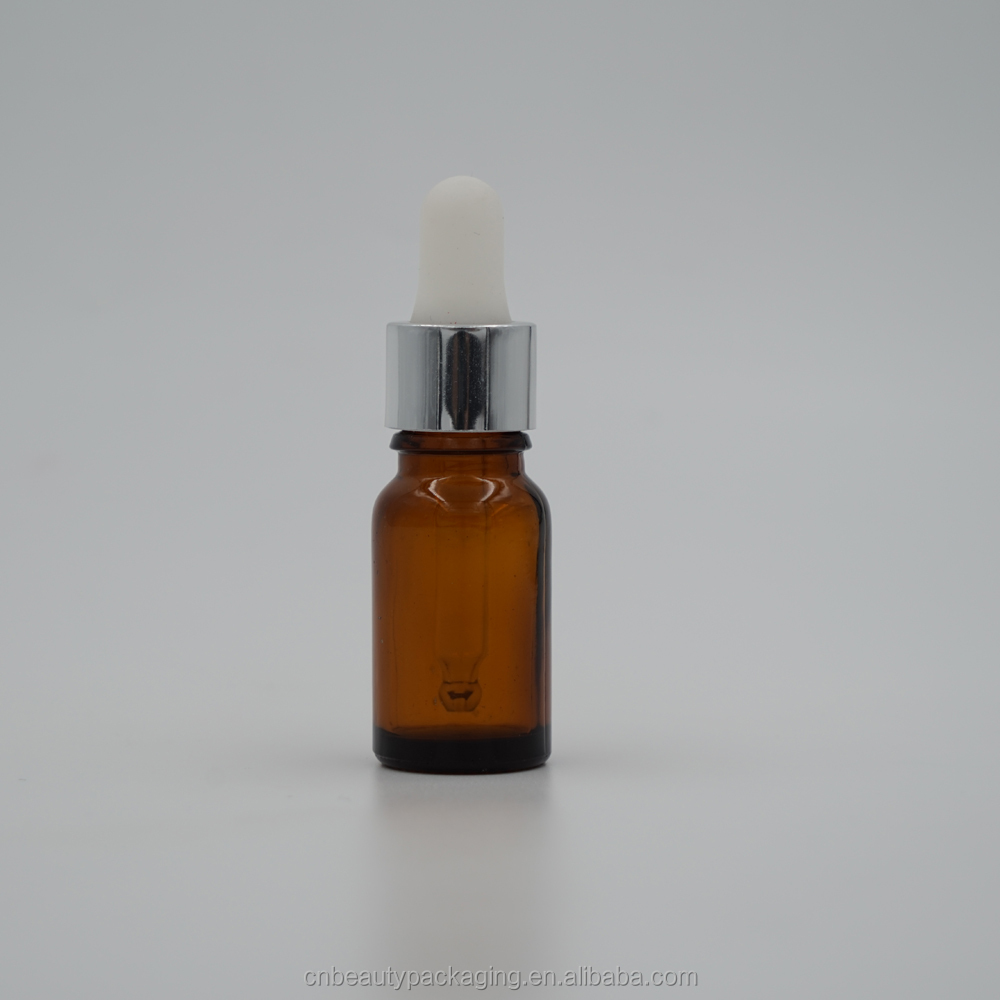 10 ml european glass dropper bottle for essential oil
