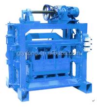QTJ4-40 concrete Brick Making Machine/hollow block machine/semi-auto