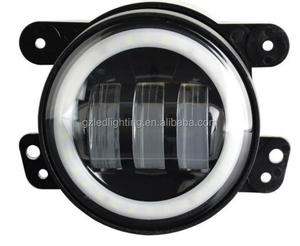 "New Auto Accessories Round 4"" Jeep Fog Light, 30W Halo Ring Jeep Fog Light"