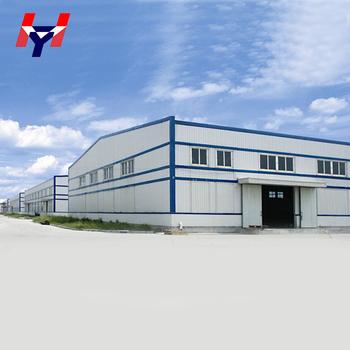 Saudi Arabia Pre Fabricated Steel Structure Warehouse