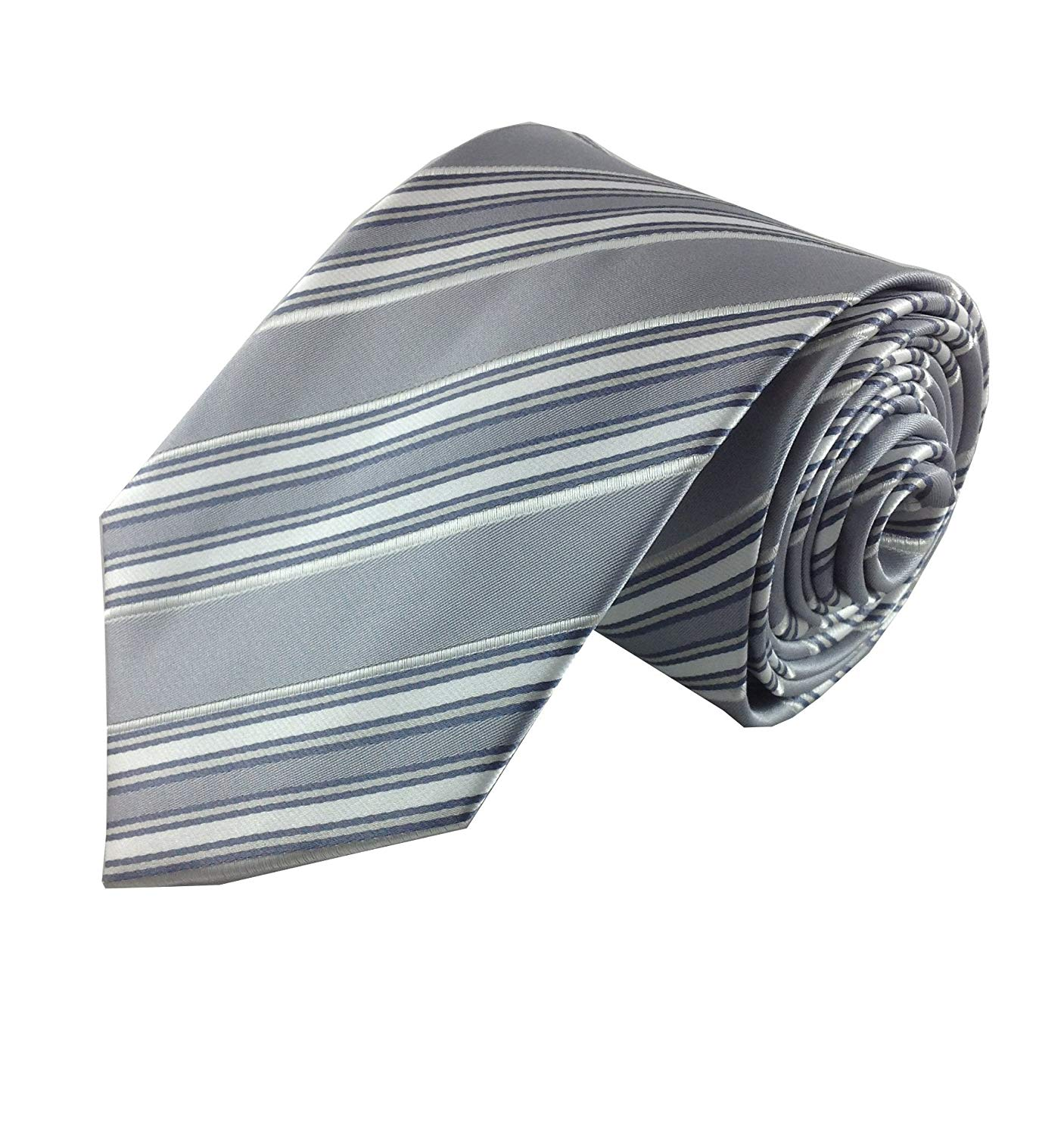 bc33373b7f3 ... Geometric Dot Stripe Classic Silk Woven Neck Tie Men Business Casual  Knitted Mens Ties Neckties 2015   11.87. Mens Necktie Silver Grey and White  Simple ...
