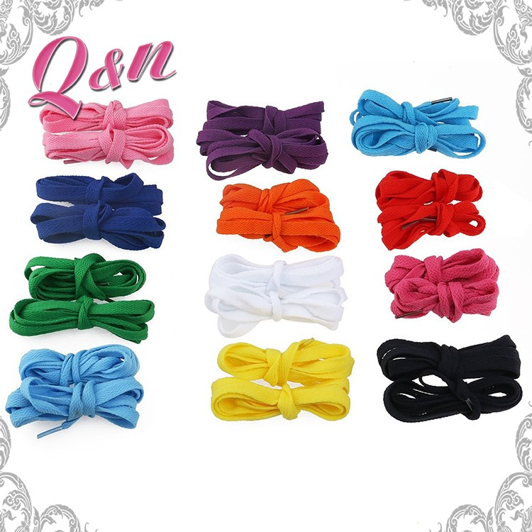 Wholesale Colorful Silicone Shoelace High Quality No Tie Shoelaces