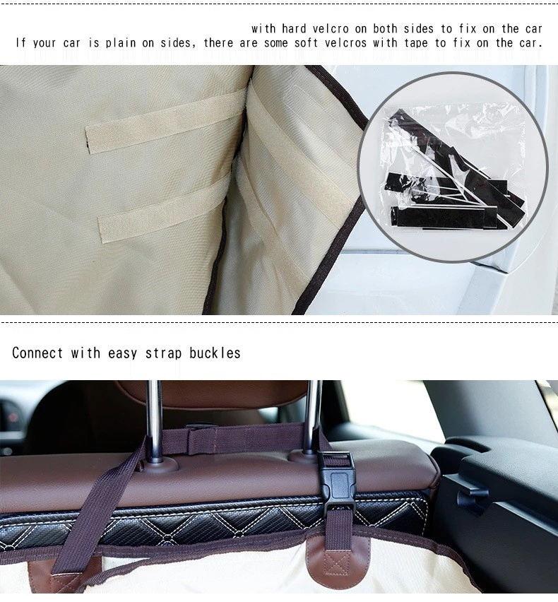 2019 Popular Waterproof Hammock Pet Dog Car Seat Cover