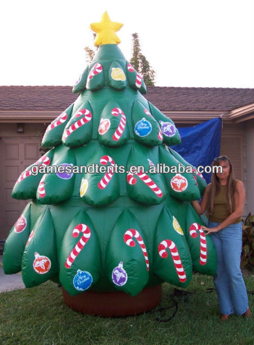 2012 Hot inflatable christmas tree, xmas inflatables F8018