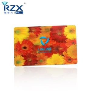 custom 3d lenticular mirror card 3d business card