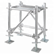 HDG hot dip galvanized layher/ringlock scaffolding system