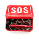 Outdoor Emergency Equipment SOS Kit Field Self-help Box Camping Travel Survival Gear Tool Survival Kit