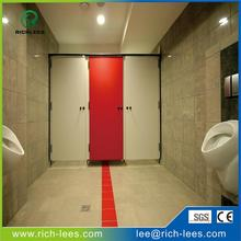 Richlees 1220*2440*11mm wooden grain HPL/Decorative High-Pressure Laminates / Compact/washroom wall/toilet