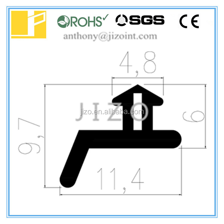 Silicone EPDM door or Window Extruded Strip sealing strip
