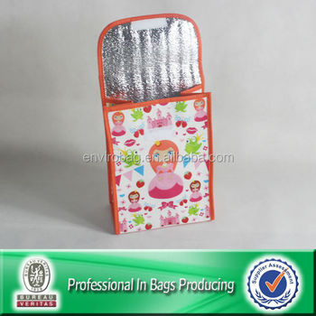 Lead Free Kids Insulated Disposable Lunch Bag