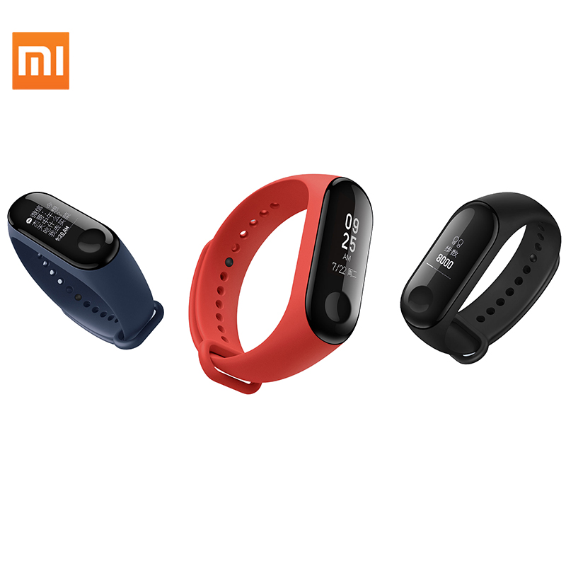 Original Xiaomi mi band 3 smart fitness wristband bracelet tracker фото