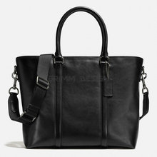 Black trend genuine plain blank cross body shoulder handbags large fair trade men tote leather bags