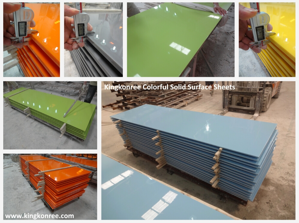 Kkr price of wholesale solid surface countertop material for Cost of solid surface countertops