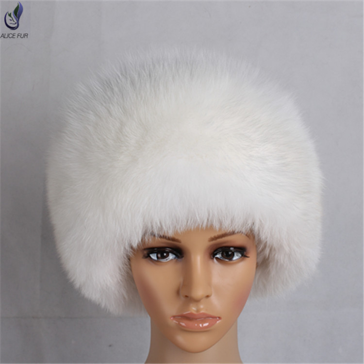 f595c6fc1 Alicefur Whole Pelt Fur Design Women Winter Plush Real White Fox Fur Hat  For Sale - Buy Real Fox Fur Hat,Plush Hat Fox,Fur Hat Product on Alibaba.com