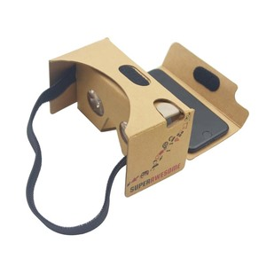 Custom adjustable lens google cardboard 3d glasses vr goggles 3d paper glasses