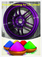 High gloss Epoxy powder coating for car wheels COLOURFUL