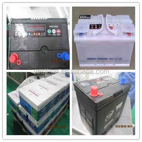 Commercio all'ingrosso a buon mercato prezzo MF 12V45AH auto batteria con alta cca