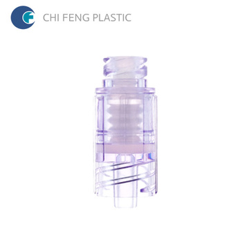 Needle Free Positive Pressure Infusion Connector Straight Type
