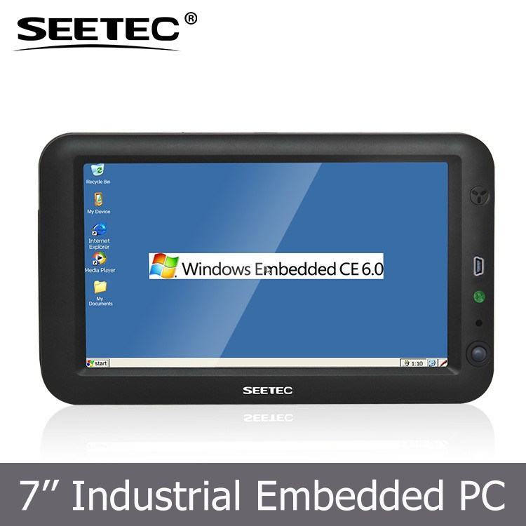 "Lightweight embedded lcd tft display 7"" mini pc windows with USB input wifi bluetooth"