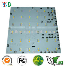 Dos colores regulable 2700 K y 6500 K 240x240mm 5050 SMD LED Panel pantalla Junta
