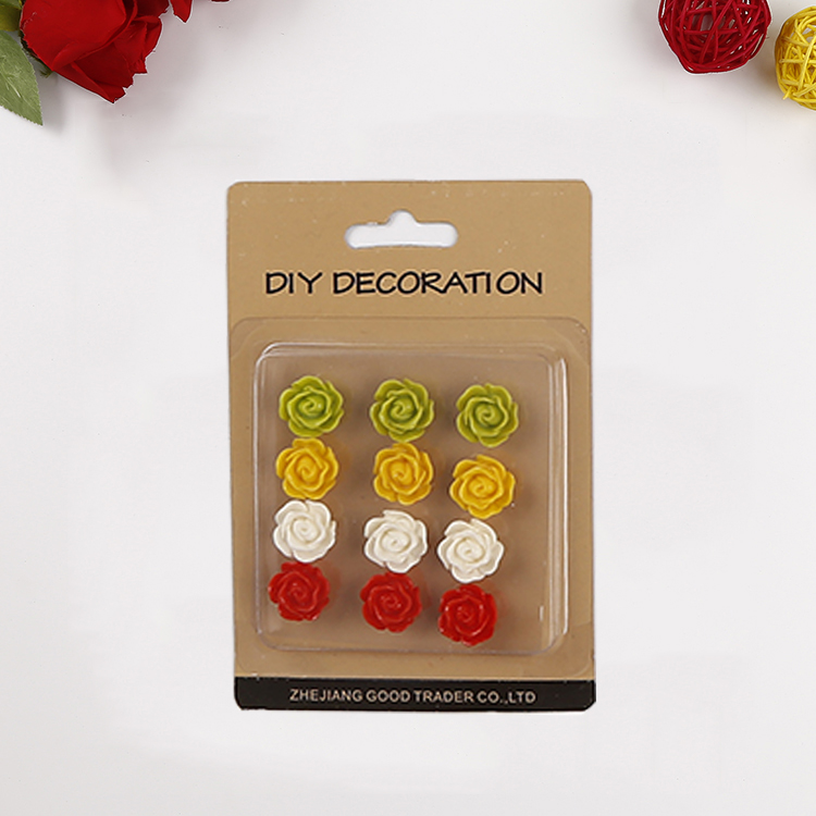 Low-priced wholesale flower shape diy beaded ornaments